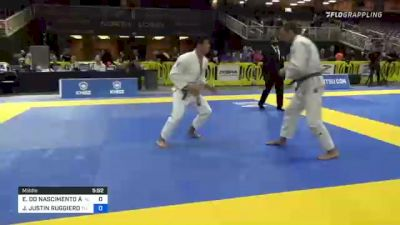 EDILSON DO NASCIMENTO AZEVEDO vs JOSEPH JUSTIN RUGGIERO 2021 Pan Jiu-Jitsu IBJJF Championship