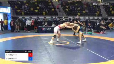 74 kg Semifinal - Hayden Hidlay, TMWC/ Wolfpack Wrestling Club vs Joshua Shields, Sunkist Kids Wrestling Club