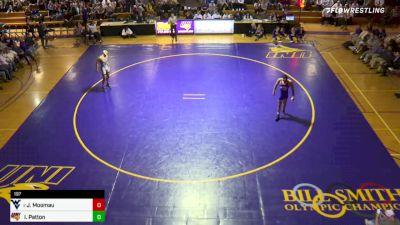 197 lbs Isaiah Patton vs Noah Adams