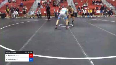 74 kg Consolation - Robert Kanniard, Scarlet Knights Wrestling Club vs Weston Wichman, Wisconsin