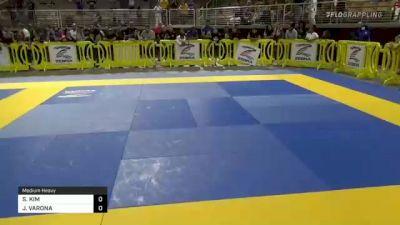 SIYEON KIM vs JOSEPH VARONA 2021 Pan Kids Jiu-Jitsu IBJJF Championship