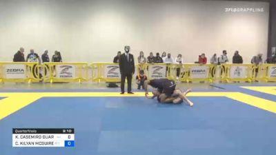KAYNAN CASEMIRO DUARTE vs CHARLES KILYAN MCGUIRE 2020 IBJJF Pan No-Gi Championship
