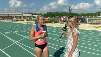 Ariane Ballner Wins First Big 12 Title In 1500m