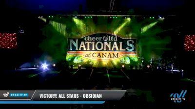 Victory! All Stars - Obsidian [2021 L2 Senior - D2 - Medium Day 2] 2021 Cheer Ltd Nationals at CANAM
