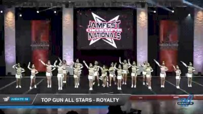 Top Gun All Stars - Royalty [2021 L3 Junior - Small - B Day 1] 2021 JAMfest Cheer Super Nationals