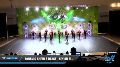 Dynamic Cheer & Dance - Senior All Stars [2021 Senior - Pom - Small Day 3] 2021 CSG Dance Nationals