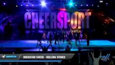 Rockstar Cheer - Rolling Stones [2021 L6 International Open Coed - Large Day 1] 2021 CHEERSPORT National Cheerleading Championship