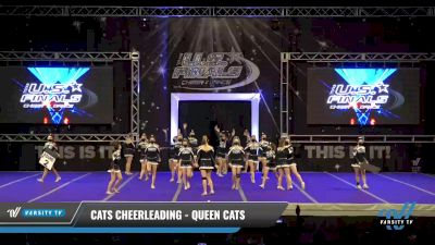 Cats Cheerleading - Queen Cats [2021 L4 Performance Recreation - 8-18 Years Old (NON) - Large Day 1] 2021 The U.S. Finals: Ocean City