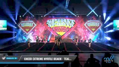 Cheer Extreme Myrtle Beach - Teal Envy [2021 L2 Senior Day 2] 2021 Spirit Sports: Battle at the Beach