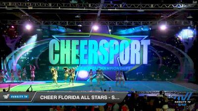 Cheer Florida All Stars - Sea Warriors [2020 Senior Small 6 Day 1] 2020 CHEERSPORT National Cheerleading Championship