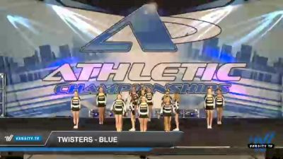 Twisters - Blue [2021 L2 Junior - Small Day 1] 2021 Athletic Championships: Chattanooga DI & DII