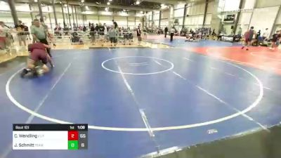 220 lbs Rr Rnd 1 - Cooper Wendling, Elite Athletic Club vs Jake Schmitt, Team Gotcha West