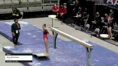 Nola Matthews - Beam, Airborne - 2021 US Championships