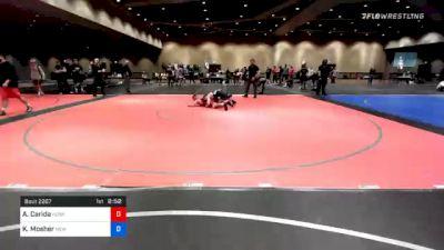 74 kg Consolation - Alexander Carida, Husky Elite Wrestling Club vs Kyle Mosher, New York City RTC