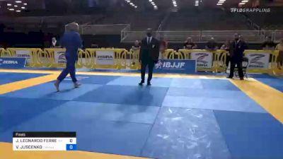 JOSÉ LEONARDO FERREIRA JÚNIOR vs VLADIMIR JUSCENKO 2020 Pan Jiu-Jitsu IBJJF Championship