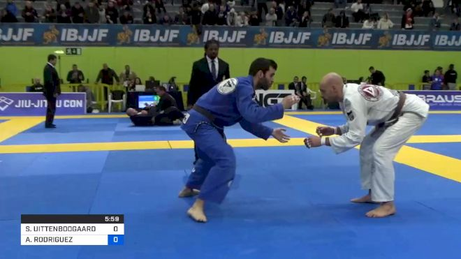 STEFAN UITTENBOOGAARD vs ALVARO RODRIGUEZ 2020 European Jiu-Jitsu IBJJF Championship