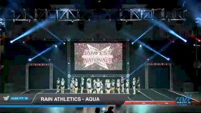Rain Athletics - Aqua [2021 L6 Senior - Small Day 1] 2021 JAMfest Cheer Super Nationals