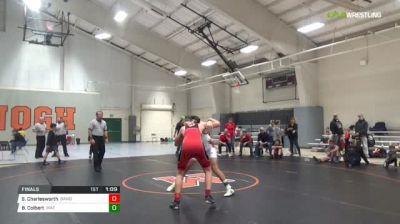170 lbs Final - Spencer Charlesworth, Bandits vs Brady Colbert, Mat Sharks Wrestling Club