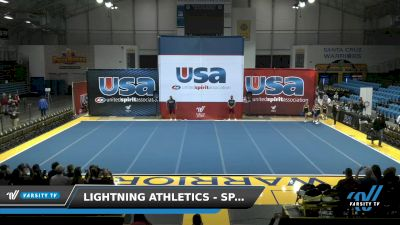 Lightning Athletics - Sparks [2021 L1 Traditional Recreation - 12 and Younger (NON) Day 1] 2021 USA Reach the Beach Spirit Competition