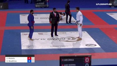 Jabir Abdalla Al Jazira Jiu-Jits vs Amine Boudhina Power Academy 2019 Abu Dhabi Grand Slam Abu Dhabi