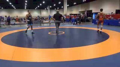 57 kg Prelims - Tristan Lujan, Unattached vs Louis Newell, Pittsburgh Wrestling Club