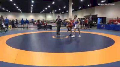 57 kg Prelims - Paul Bianchi, Arkansas Regional Training Center vs Codi Russell, Blue Ridge RTC