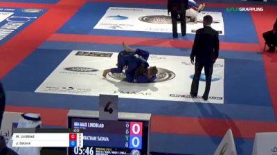 Max Lindblad vs Jonathan Satava 2018 Abu Dhabi World Professional Jiu-Jitsu Championship