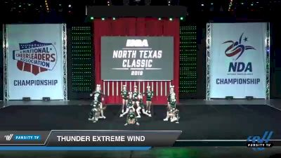 - Thunder Extreme Wind [2019 Junior 1 Day 1] 2019 NCA North Texas Classic