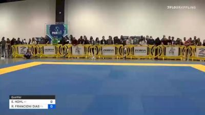 EDWARD HOHL vs RODRIGO FRANCIONI DIAS 2020 IBJJF Pan No-Gi Championship
