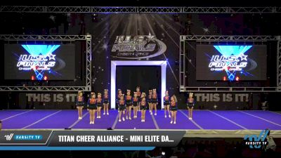 Titan Cheer Alliance - Mini elite dazzlers [2021 L1 Performance Recreation - 8 and Younger (NON) Day 1] 2021 The U.S. Finals: Ocean City