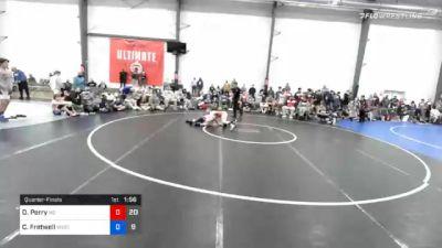 51 kg Quarterfinal - Dalton Perry, M2 Magicians vs Christian Fretwell, Wyoming Valley RTC Blue