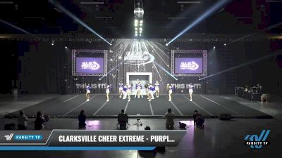 Clarksville Cheer Extreme - Purple Reign [2021 L4 Senior Coed Day 1] 2021 The U.S. Finals: Sevierville