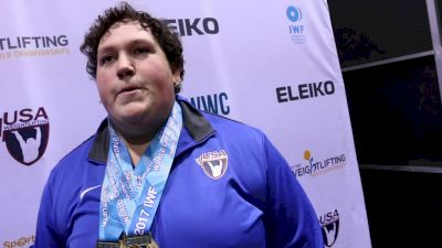 Sarah Robles (USA) Sweeps Gold At 2017 IWF Worlds