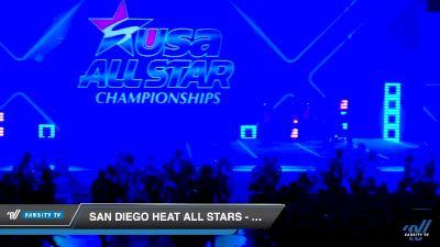 San Diego Heat All Stars - Lady Obsession [2019 Senior - D2 2 Day 2] 2019 USA All Star Championships