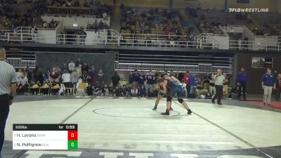220 lbs 3rd Place - Harrison Levans, Germantown Academy vs Noah Pettigrew, Blair Academy