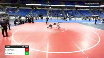 138 lbs Semifinal - Shayne Van Ness, NJ/NY vs Jt Chance, Pennsylvania
