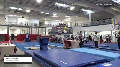 Kamila Pawlak - Vault, Metroplex Gymnastics - 2021 Region 3 Women's Championships