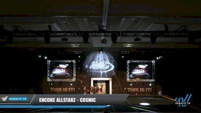 Encore Allstarz - Cosmic [2021 L1 Junior - Novice 2] 2021 The U.S. Finals: Grapevine
