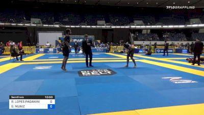 RAFAEL LOPES PAGANINI vs GABRIEL ALMEIDA 2019 World IBJJF Jiu-Jitsu No-Gi Championship