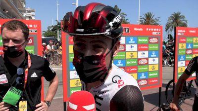 David De La Cruz: 'It's Going To Be A Tough Day' Stage 7 - 2021 Vuelta A España