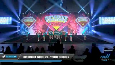 Richmond Twisters - Youth Thunder [2021 L2 Youth - D2 - Small Day 2] 2021 Spirit Sports: Battle at the Beach