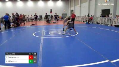 132 lbs Round Of 16 - Colton Camacho, Young Guns Black vs Ethen Miller, Team Shutt Usa