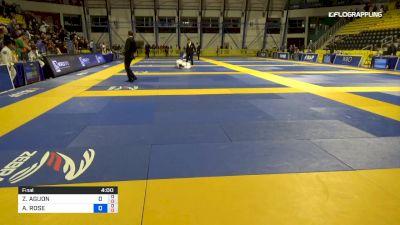ZETALYN AGUON vs ARIANNA ROSE 2019 Pan Kids Jiu-Jitsu IBJJF Championship