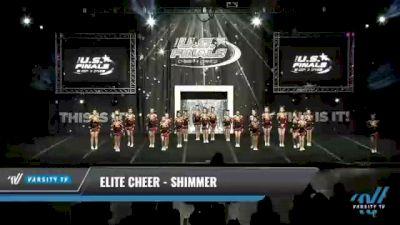 Elite Cheer - Shimmer [2021 L2 Youth - Medium Day 1] 2021 The U.S. Finals: Kansas City