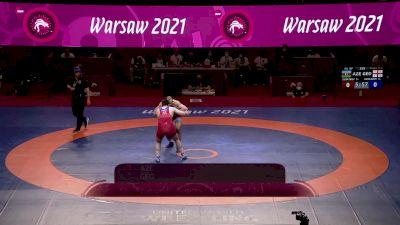 97 kg 3rd Place - Shamil Zubairov, AZE vs Elizbar Odikadze, GEO