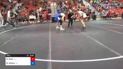 86 kg Semifinal - Maximus Hale, Pennsylvania RTC vs Myles Wilson, Hawkeye Wrestling Club