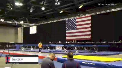 Xavier Harper - Tumbling, Premier Athletics - 2021 USA Gymnastics Championships