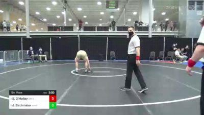 285 lbs 5th Place - Sean O'Malley, Drexel vs John Birchmeier, Navy