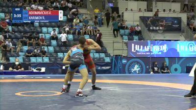 51 kg Repechage #2 - Vilius Adomavicius, Lithuania vs Rahman Karimov, Azerbaijan