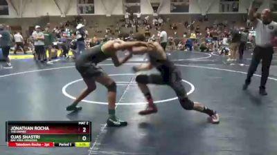 157 lbs Semifinal - Ojas Shastri, Bay Area Dragons vs Jonathan Rocha, The Empire